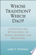 Whose Tradition Which Dao