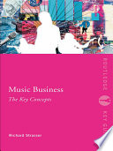 Music Business  The Key Concepts