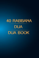 40 Rabbana Dua Book