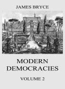 Modern Democracies, Vol. 2 Pdf/ePub eBook