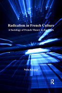 Pdf Radicalism in French Culture Telecharger