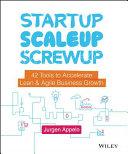 Startup, Scaleup, Screwup Book