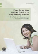 From Promoting Gender Equality to Empowering Women