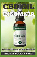 CBD Oil for Insomnia  Effective Therapy for Sleep Disorder Book