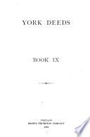 York Deeds Book PDF