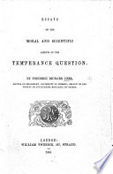 Essays Historical And Critical On The Temperance Question