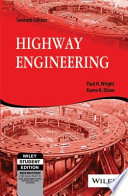 HIGHWAY ENGINEERING, 7TH ED