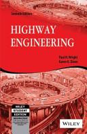 HIGHWAY ENGINEERING, 7TH ED