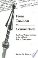 From Tradition To Commentary