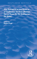 Pdf The Romance of the Rose or of Guillaume de Dole Telecharger