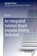 Book Cover: An Integrated Solution based Irregular Driving Detection