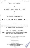 New Edition of Botany for Beginners