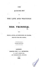 Some Account of the Life and Writings of Mrs. Trimmer