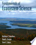 Fundamentals of Ecosystem Science Book