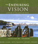 The Enduring Vision  A History of the American People  Volume II