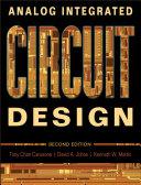 Analog Integrated Circuit Design Book