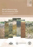 World Reference Base for Soil Resources  2006