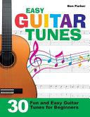 Easy Guitar Tunes Book