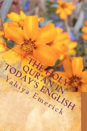 The Holy Qur an in Today s English Book PDF
