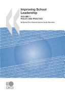 Improving School Leadership, Volume 1 Policy and Practice [Pdf/ePub] eBook