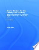 Social Studies For The Twenty First Century