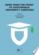 News from the Front of Sustainable University Campuses