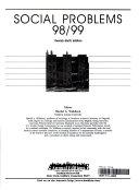 Social Problems  98 99