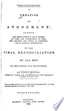 A Treatise on Atonement Book