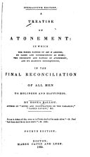 A Treatise on Atonement ebook