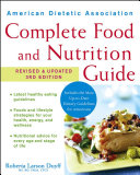 American Dietetic Association Complete Food And Nutrition Guide Book PDF