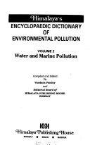 Himalaya s Encyclopaedic Dictionary of Environmental Pollution  Water and marine pollution