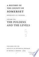 A History of the County of Somerset