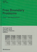 free boundary problems theory and applications