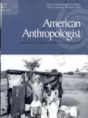 AMERICAN ANTHOLOGIST