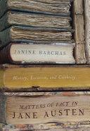 Matters of Fact in Jane Austen
