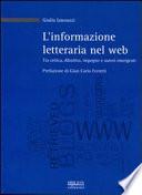 L'informazione letteraria nel web