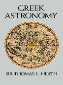 Pdf Greek Astronomy Telecharger