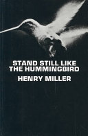 Stand Still Like the Hummingbird