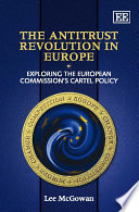The Antitrust Revolution in Europe