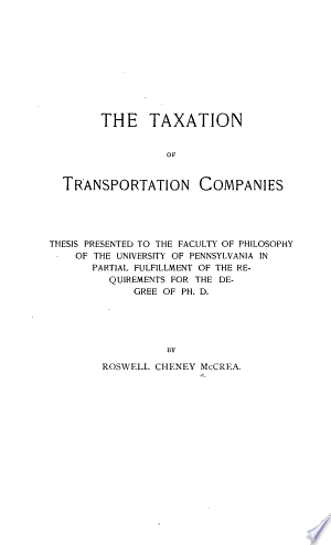 Taxation+of+Transportation+Companies