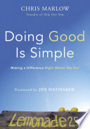 Doing Good Is Simple Book