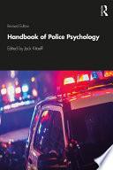 Handbook of Police Psychology