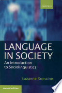 Language in Society Pdf/ePub eBook