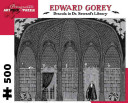 Edward Gorey - Dracula in Dr. Seward's Library