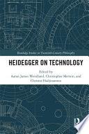 Heidegger On Technology
