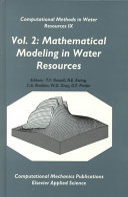 Computational Methods in Water Resources IX