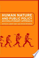 Human Nature and Public Policy Book