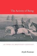 The Activity of Being