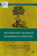 The Indistinct Human in Renaissance Literature [Pdf/ePub] eBook