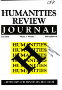 Humanities Review Journal